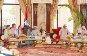 Sheikh Sultan bin Zayed meets US Ambassador