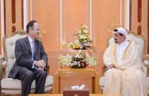 Ajman Ruler receives British Ambassador