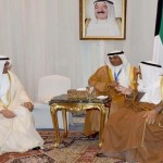 Amir of Kuwait meets Fujairah Ruler