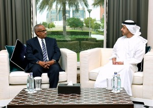 Foreign minister receives Somali counterpart