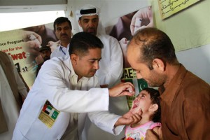 Global tribute to UAE's efforts for polio eradication