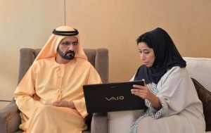PM visits Government of Dubai Media Office