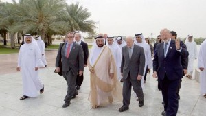 Sharjah Ruler receives Jimmy Carter
