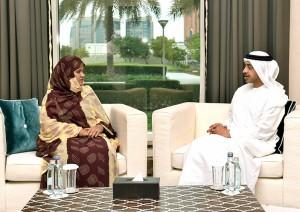 Sheikh Abdullah meets Mauritanian FM