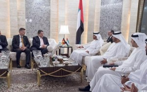 Sheikh Mohamed bin Zayed receives German VC