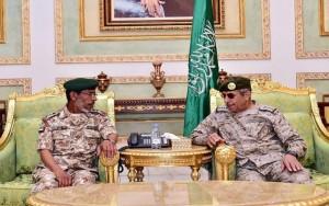 UAE Chief of Staff meets Saudi Counterpart