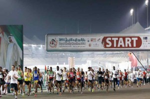 Winners of Zayed Charity Marathon honoured