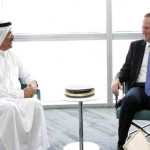Al Mansouri discuss economic ties with New Zealand's PM