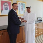 Al Tayer receives Indian Minister State for Financial Affairs