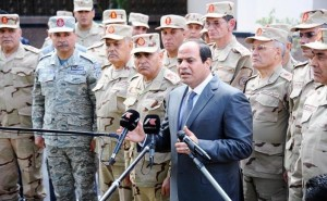 Egypt will not give up its Gulf brothers: Al-Sisi
