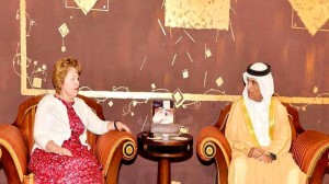Ras Al Khaimah Ruler receives U.S. Ambassador