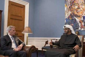 Sheikh Mohamed bin Zayed Al Nahyan meets US officials