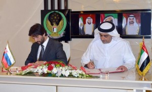 Sheikh Saif, Slovak counterpart sign MoUs