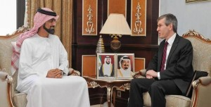 Ajman Crown Prince receives US Consul General