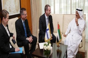 Al Mansouri, Finnish counterpart discuss cooperation