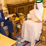 Custodian of Two Holy Mosques receives US Secretary of State