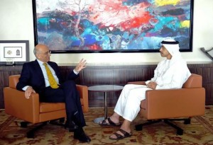 FM meets IMF's Director of ME & Central Asia