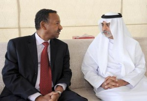 Nahyan receives Sudanese investment minister