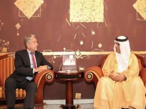 RAK Ruler receives Netherlands Consul-General