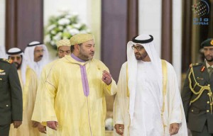 Sheikh Mohamed bin Zayed meets King of Morocco
