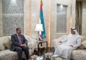 Sheikh Mohamed bin Zayed receives Yemen's VP
