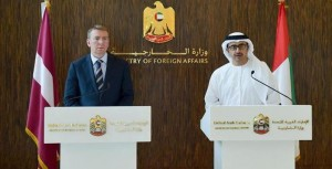 FM receives Latvian counterpart