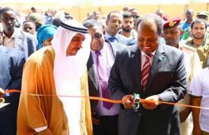 President of Somalia opens Sheikh Zayed Hospital
