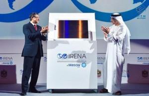 Sheikh Abdullah inaugurates IRENA's headquarters
