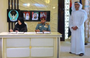 Sheikh Saif attends signing of MoU for child protection