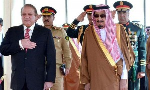 King Salman and Pakistani PM discuss ties