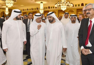 PM meets heads of Arab, international companies