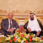 Sharjah Ruler receives Iraqi Vice President