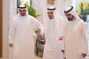 King Salman receives PM and Sheikh Mohamed bin Zayed of UAE