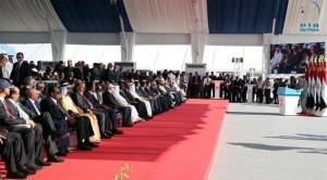 PM attends inauguration of new Suez Canal
