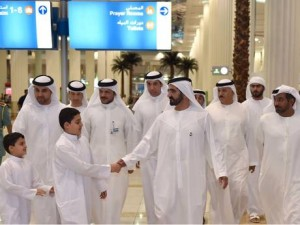 PM inspects facilities at Dubai International Airport