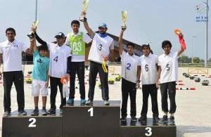 Sheikh Hamdan bin Mohammed wins Slovakia's endurance race