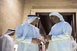 Sheikh Mohamed bin Zayed, Saudi FM discuss ties