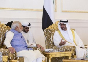 Sheikh Mohamed bin Zayed receives India's PM