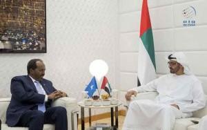 Sheikh Mohamed bin Zayed receives President of Somalia