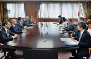 Al Mansouri and Japanese counterpart discuss cooperation