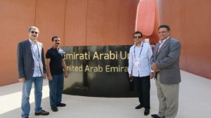 DP World delegation visits Milan Expo 2015