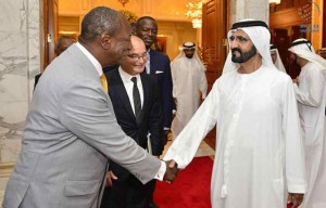 PM receives President of Guinea