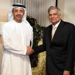President of Sri Lanka receives Sheikh Abdullah