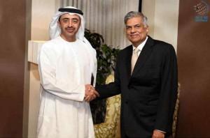 President of Sri Lanka receives Sheikh Abdullah