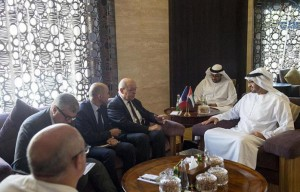 Sheikh Mohamed bin Zayed receives French Minister