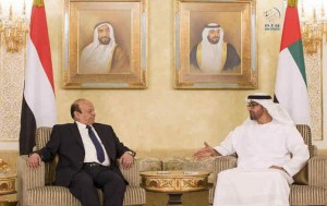 Sheikh Mohamed bin Zayed receives President of Yemen