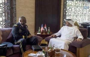 Sheikh Mohamed bin Zayed receives US Officer