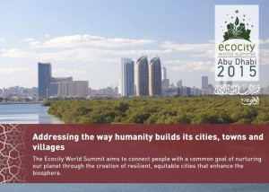 Ecocity World Summit 2015 launches in Abu Dhabi