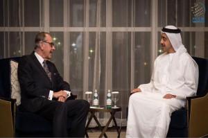 Sheikh Abdullah receives UN Deputy Secretary-General