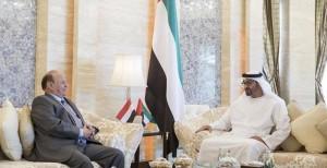 Sheikh Mohamed bin Zayed, Yemen's president discuss relations